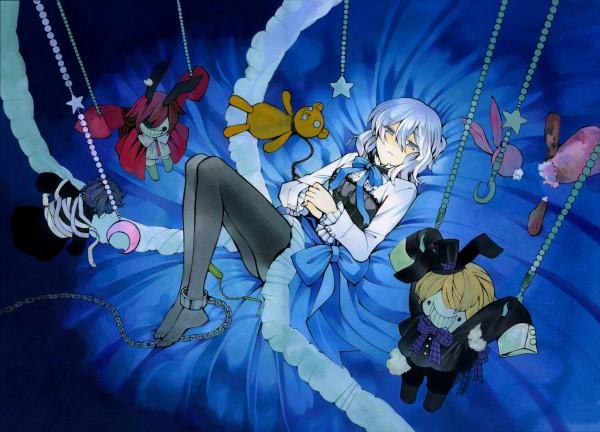 Tags: Anime, Mochizuki Jun, SQUARE ENIX, Pandora Hearts, Pandora Hearts ~Odds And Ends~, Echo, Juota-san, Hanging Star, Official Art, Scan