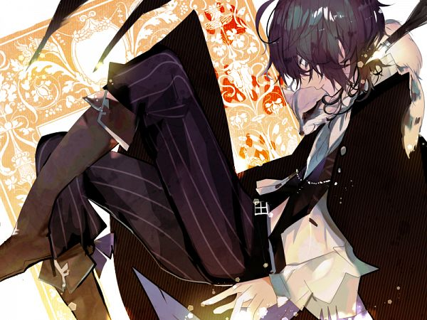 Tags: Anime, Pixiv Id 4359805, Bungou Stray Dogs, Edgar Allan Poe (Bungou Stray Dogs), Fanart, Fanart From Pixiv, PNG Conversion, Pixiv