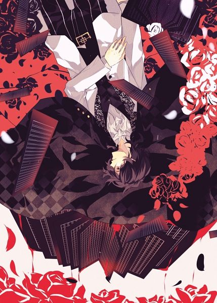 Tags: Anime, Rainy-4024, Bungou Stray Dogs, Edgar Allan Poe (Bungou Stray Dogs), Mobile Wallpaper, Fanart, Fanart From Pixiv, Pixiv