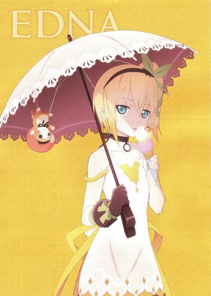 Tags: Anime, ufotable, Namco, Tales of Zestiria, Normin, Edna (Tales of Zestiria), Mobile Wallpaper, Official Art, Scan