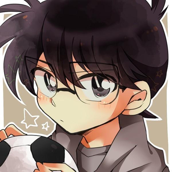 Tags: Anime, Pixiv Id 636915, Meitantei Conan, Edogawa Conan, Beige Background, Fanart, Fanart From Pixiv, Pixiv