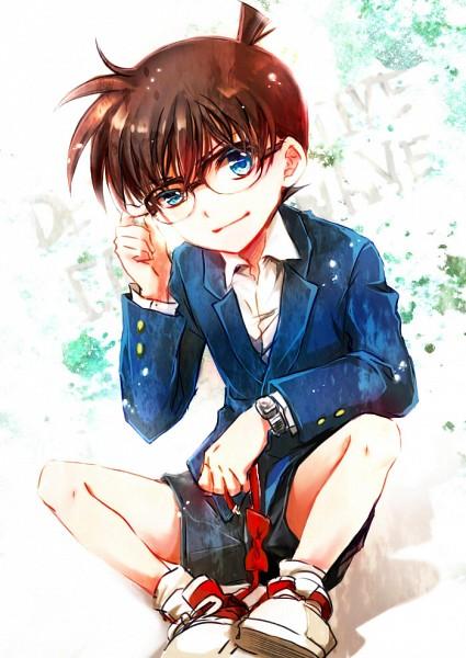 Tags: Anime, Serinavvv, Meitantei Conan, Edogawa Conan, Pixiv, Mobile Wallpaper, Fanart, Fanart From Pixiv