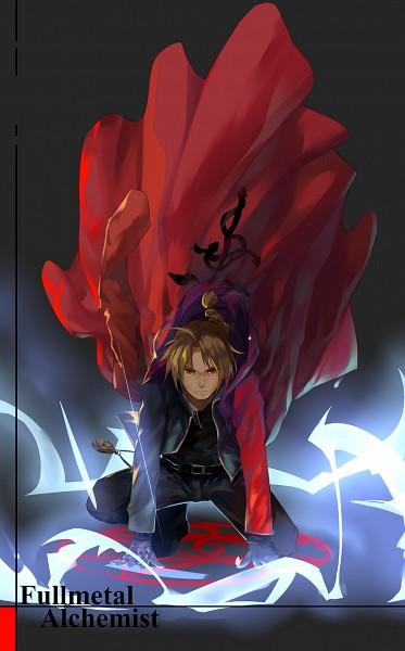Tags: Anime, LighTofHeaveN, Fullmetal Alchemist Brotherhood, Fullmetal Alchemist, Edward Elric, Alchemic Circle, Red Coat, Pixiv, Fanart From Pixiv, PNG Conversion, Mobile Wallpaper, Fanart