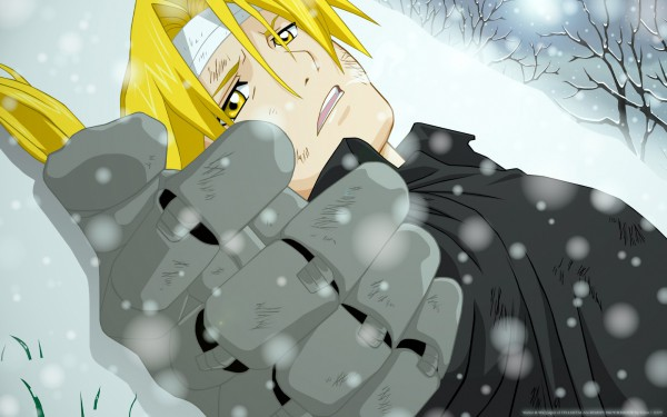 Tags: Anime, Fullmetal Alchemist, Edward Elric, Automail, Wallpaper, HD Wallpaper