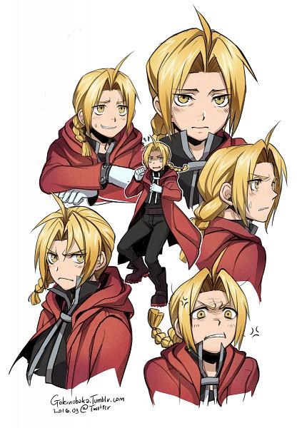 Tags: Anime, Goku-no-baka, Fullmetal Alchemist, Edward Elric, Mobile Wallpaper