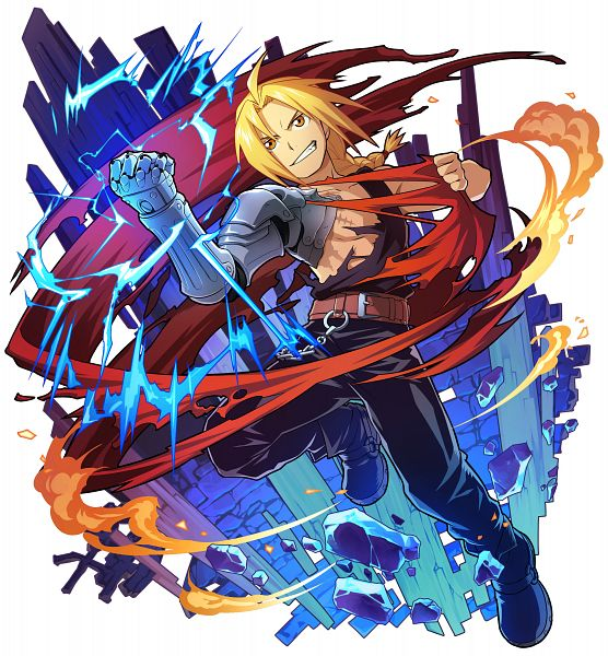 Tags: Anime, studioking, Fullmetal Alchemist Brotherhood, Fullmetal Alchemist, Boku & Dragons, Edward Elric, Official Art
