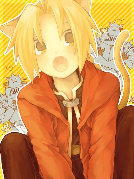 Tags: Anime, Kz Zkkkha, Fullmetal Alchemist, Alphonse Elric, Edward Elric, Pixiv, Fanart, Elric Brothers