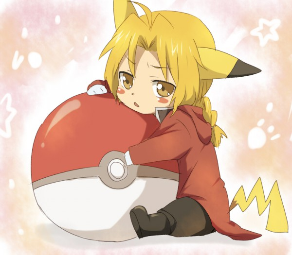 Tags: Anime, Fullmetal Alchemist, Pokémon, Edward Elric, Pikachu (Cosplay)