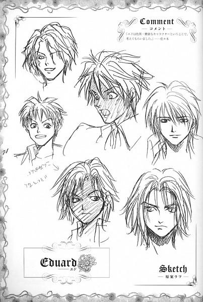 Tags: Anime, Ginyuu Mokushiroku Meine Liebe, Edward Markgraf Von Sekt Nahe Braunschweig, Sketch