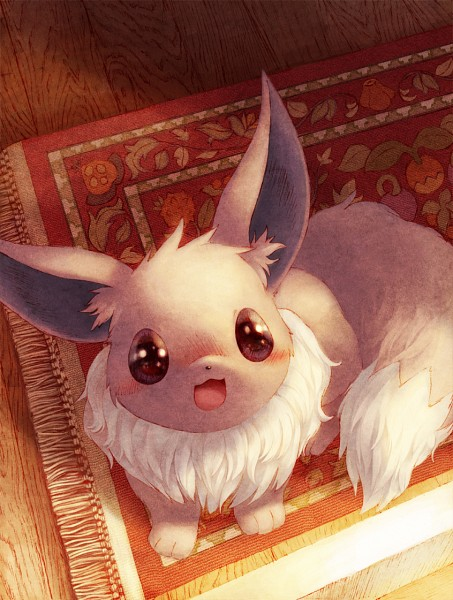 Tags: Anime, Coken, Pokémon, Eevee, Rug, Pixiv, Fanart From Pixiv, Fanart