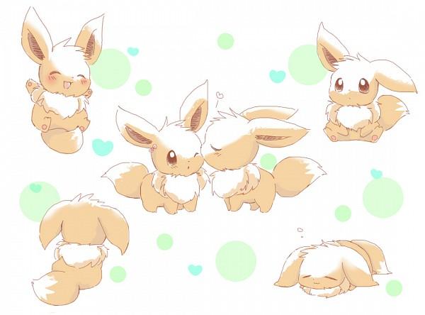 Tags: Anime, Pixiv Id 371566, Pokémon, Eevee, Pixiv, Fanart, Fanart From Pixiv