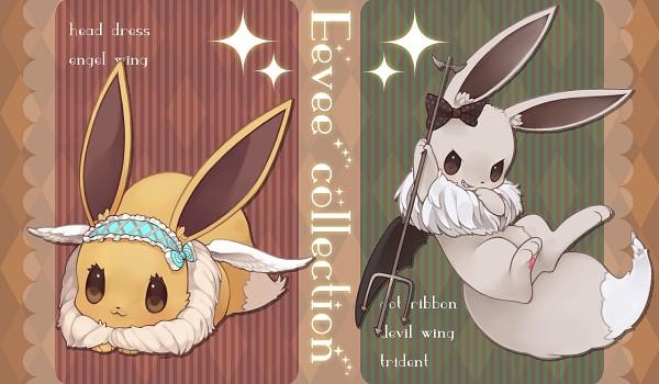 Tags: Anime, Fuchsia, Pokémon, Eevee, Pixiv, Shiny Pokémon, Fanart From Pixiv, Fanart