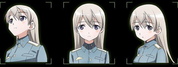 Tags: Anime, Takamura Kazuhiro, david production, Strike Witches: Road to Berlin, Strike Witches, Eila Ilmatar Juutilainen, Official Art