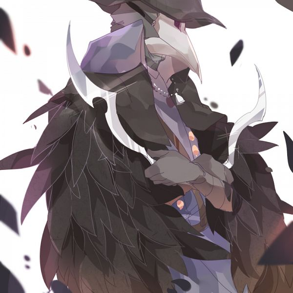 Tags: Anime, Pixiv Id 4021293, Bloodborne, Eileen the Crow, Pixiv, Fanart, Fanart From Pixiv