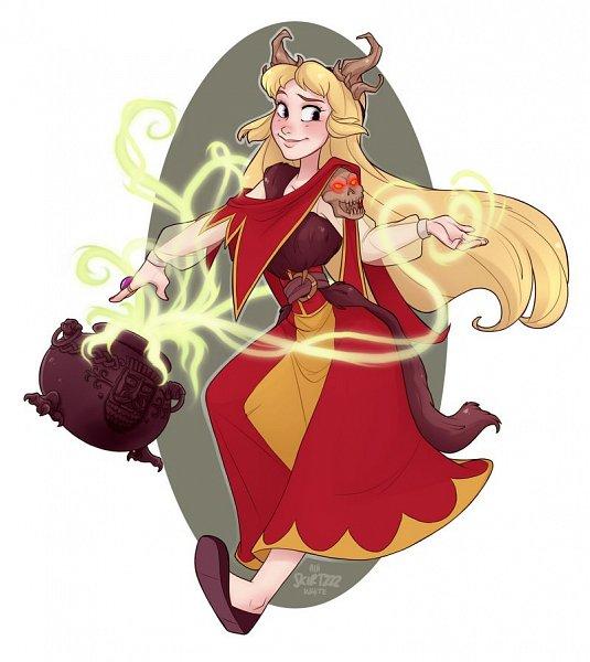 Tags: Anime, Skirtzzz, The Black Cauldron, Eilonwy, Cauldron, Fanart, Fanart From DeviantART, deviantART