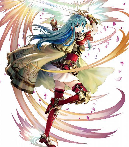 Tags: Anime, Asatani Tomoyo, Intelligent Systems, Fire Emblem Heroes, Eirik (Fire Emblem), PNG Conversion, Official Art