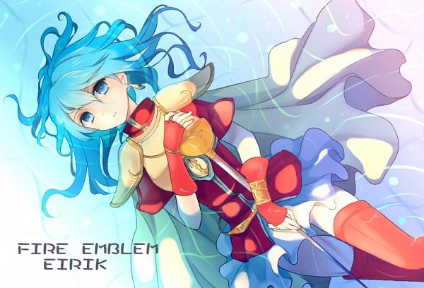 Tags: Anime, Jikunyaga, Fire Emblem: Seima no Kouseki, Eirik (Fire Emblem), Rapier, Fanart, Pixiv, Fanart From Pixiv