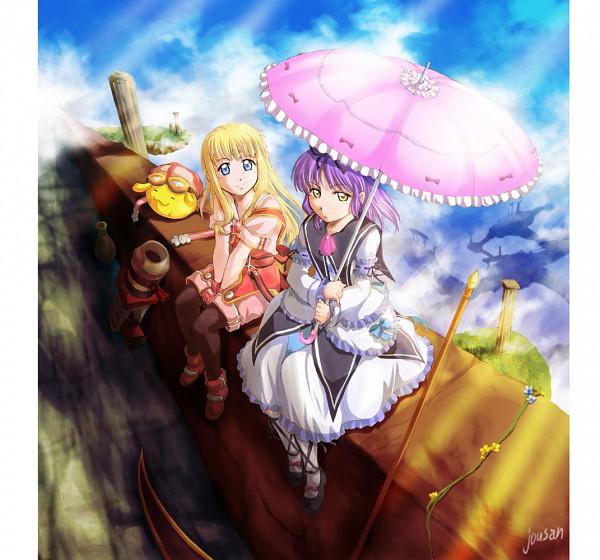 Tags: Anime, Xiacheng Tatsuya, Falcom, Eiyuu Densetsu VI: Sora no Kiseki, Tita Russell, Renne Bright, Pixiv, Fanart, The Legend Of Heroes: Trails In The Sky
