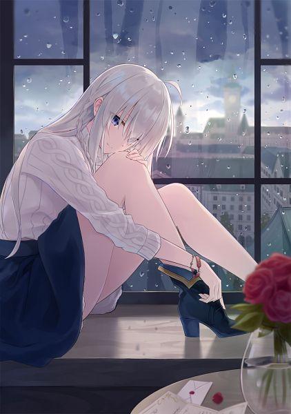 Tags: Anime, Azuuru, Majo no Tabitabi, Elaina (Majo no Tabitabi), Official Art