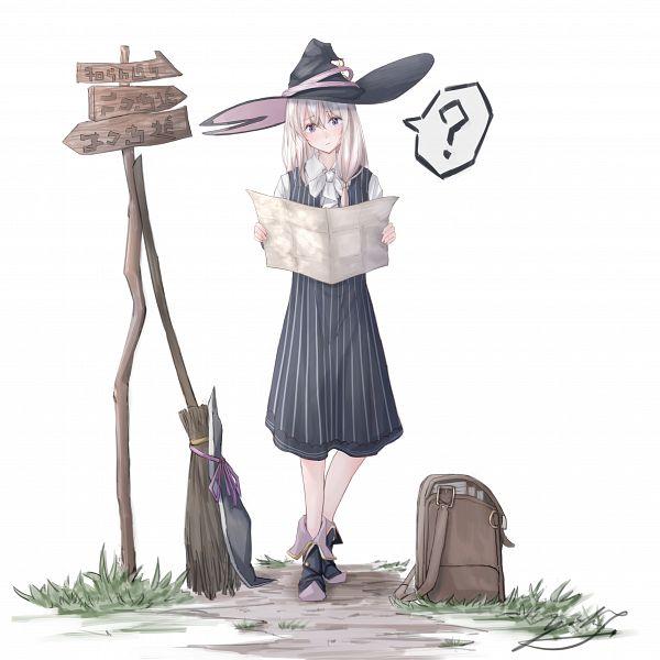 Tags: Anime, Pixiv Id 14525377, Majo no Tabitabi, Elaina (Majo no Tabitabi), Fanart, Fanart From Pixiv, Pixiv