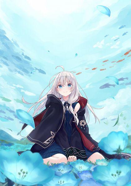 Tags: Anime, Azuuru, Majo no Tabitabi, Elaina (Majo no Tabitabi), Official Art, Pixiv