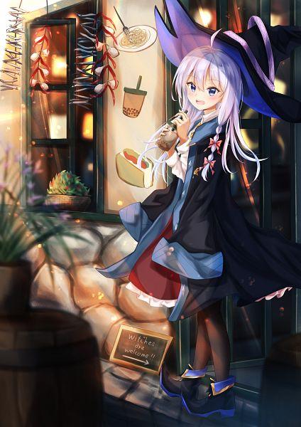 Tags: Anime, Pixiv Id 36388895, Majo no Tabitabi, Elaina (Majo no Tabitabi), Pixiv, Fanart, Fanart From Pixiv