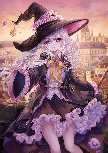 Tags: Anime, Pixiv Id 2684528, Majo no Tabitabi, Elaina (Majo no Tabitabi), Fanart From Pixiv, Pixiv, Fanart
