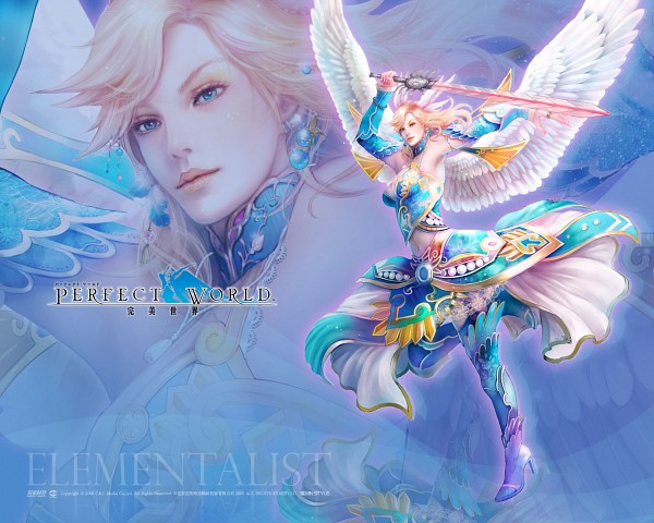 Tags: Anime, Perfect World Entertainment, Perfect World, Elementalist, Wallpaper, Official Art, Official Wallpaper