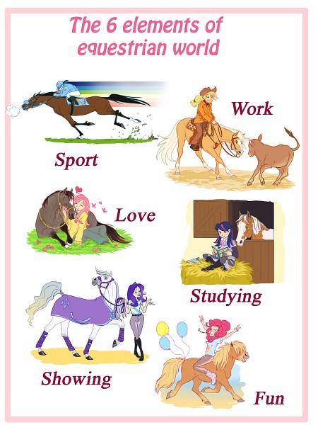 Tags: Anime, Yulynh, My Little Pony, Pinkie Pie, Applejack, Fluttershy, Twilight Sparkle, Rarity, Rainbow Dash, Cattle, Pony, Barn, deviantART