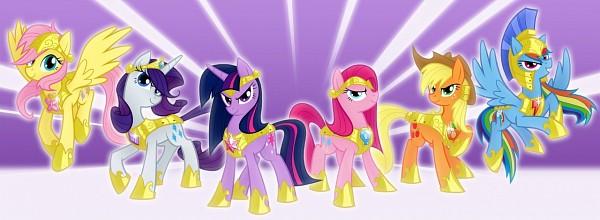 Tags: Anime, Equestria-prevails, My Little Pony, Rainbow Dash, Pinkie Pie, Applejack, Fluttershy, Twilight Sparkle, Rarity, Cutie Mark, deviantART, Fanart, Fanart From DeviantART