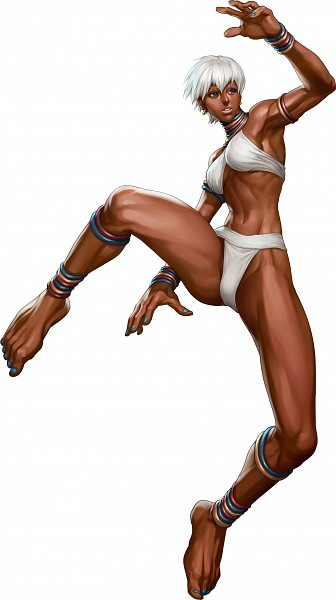 """Tags: Anime, Stanley """"Artgerm"""" Lau, Street Fighter, Elena (Street Fighter), Martial Arts, Official Art"""