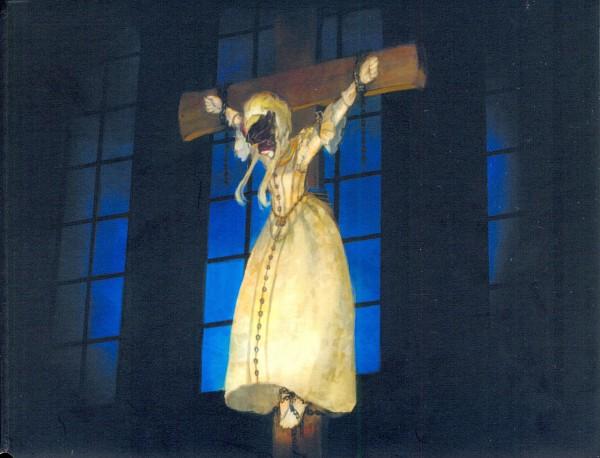 Tags: Anime, Yokoyan, Elisabeth von Wettin, Saint, Church, Hanging, Official Art, Märchen, Scan, Sound Horizon