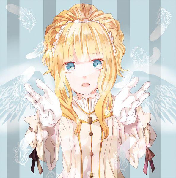 Tags: Anime, Kanatukimo, Elisabeth von Wettin, Faux Wings, PNG Conversion, Märchen, Fanart, Fanart From Pixiv, Pixiv, Sound Horizon
