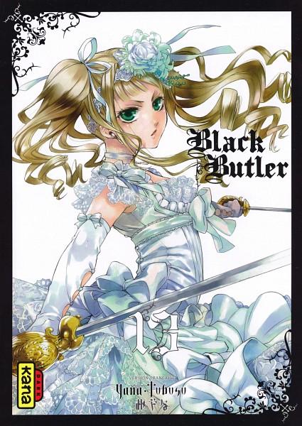 Tags: Anime, Toboso Yana, Kuroshitsuji, Elizabeth Ethel Cordelia Midford, Manga Cover, Official Art, Scan, Manga Page, Mobile Wallpaper