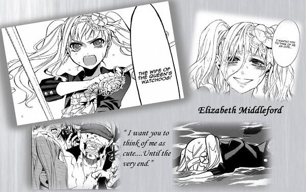 Tags: Anime, Kuroshitsuji, Elizabeth Ethel Cordelia Midford, Gray, Collage, Edited
