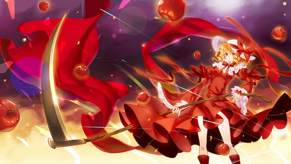 Tags: Anime, Pixiv Id 2686423, Touhou, Elly, Fanart From Pixiv, Fanart, HD Wallpaper, Facebook Cover, Pixiv, Wallpaper, PC-98 Touhou Era