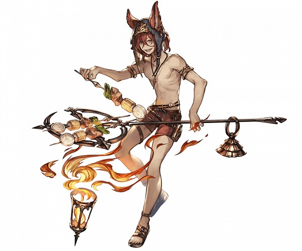 Tags: Anime, Minaba Hideo, Cygames, Granblue Fantasy, Elmott (Granblue Fantasy), Cover Image, Official Art