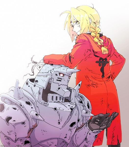 Tags: Anime, Anna Kotori, Fullmetal Alchemist, Alphonse Elric, Edward Elric, Elric Brothers