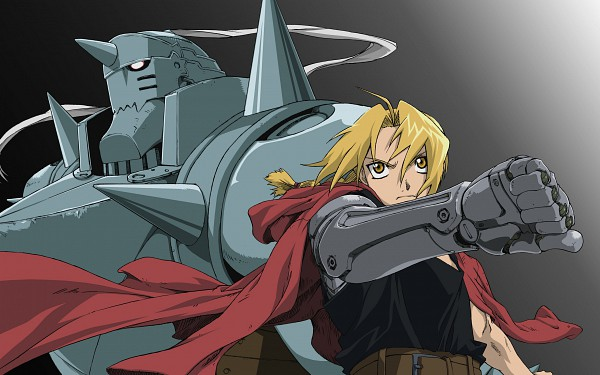 Tags: Anime, SQUARE ENIX, Fullmetal Alchemist, Alphonse Elric, Edward Elric, HD Wallpaper, Wallpaper, Elric Brothers
