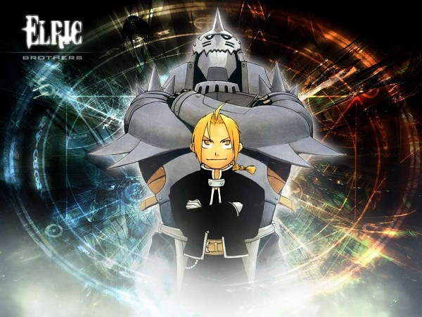 Tags: Anime, SQUARE ENIX, Fullmetal Alchemist, Alphonse Elric, Edward Elric, Wallpaper, Elric Brothers