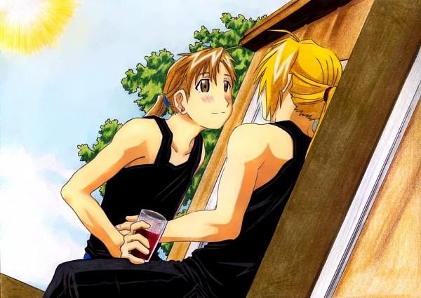 Tags: Anime, Fullmetal Alchemist, Alphonse Elric, Edward Elric, Elric Brothers