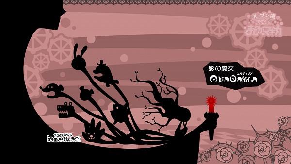 Tags: Anime, Hakusairanger, KONAMI (Studio), Mahou Shoujo Madoka☆Magica, Pop'n Music, Sebastian's, Elsa Maria, Wallpaper, HD Wallpaper, Facebook Cover