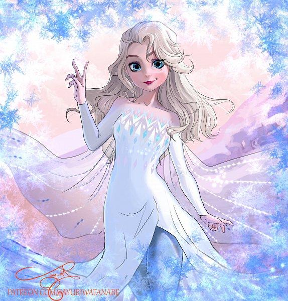Tags: Anime, Sayuri94watanabe, Frozen (Disney), Elsa the Snow Queen, Elsa the Fifth Spirit, Disney