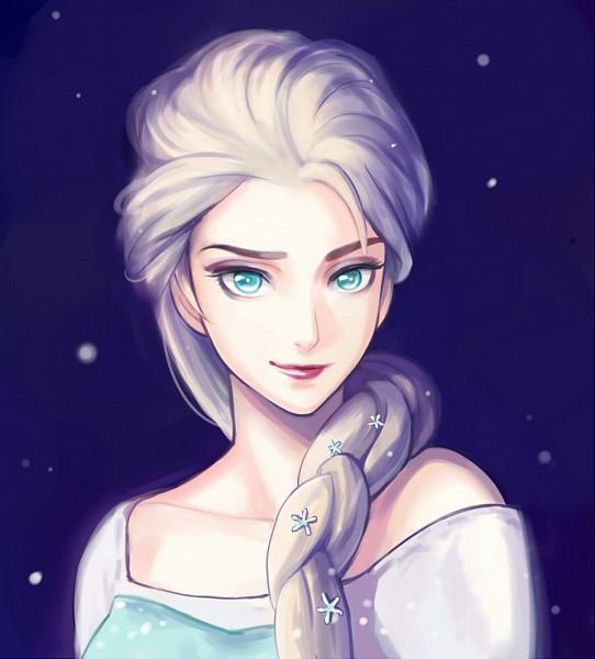 Tags: Anime, Setsuna1111, Frozen (Disney), Elsa the Snow Queen, Fanart From DeviantART, Disney, deviantART, Fanart