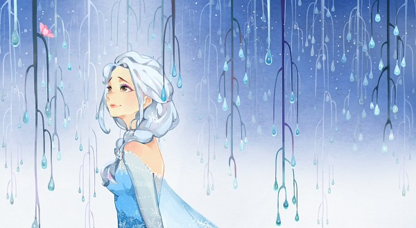 Tags: Anime, Pixiv Id 2404011, Frozen (Disney), Elsa the Snow Queen, Fanart From Pixiv, Facebook Cover, Disney, Pixiv, Fanart