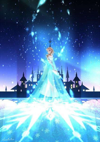 Tags: Anime, Pixiv Id 4125825, Frozen (Disney), Elsa the Snow Queen, Fanart From Pixiv, Mobile Wallpaper, Disney, Pixiv, Fanart