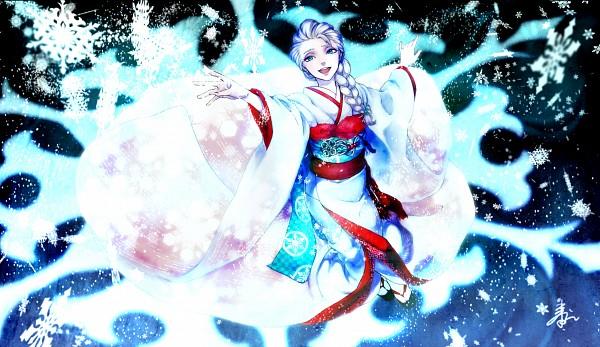 Tags: Anime, Pixiv Id 1541222, Frozen (Disney), Elsa the Snow Queen, Pixiv, Fanart, Fanart From Pixiv, Disney