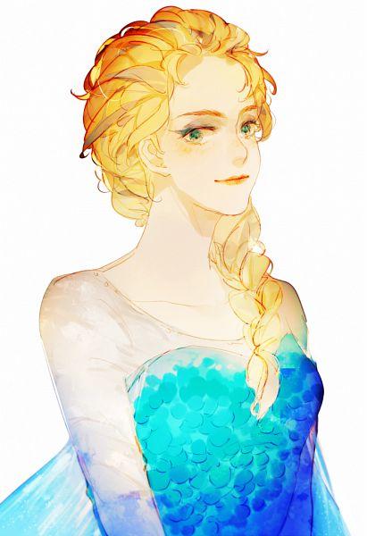 elsa the snow queen  frozen disney  image 2170858