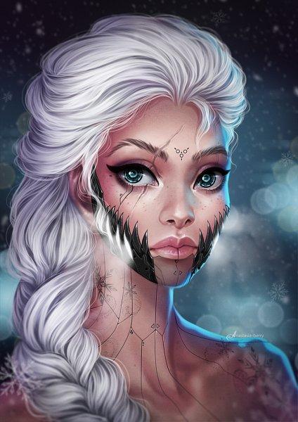 elsa the snow queen  frozen disney  image 2379232