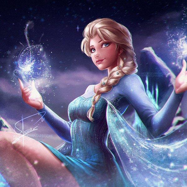 Tags: Anime, Axsens, Frozen (Disney), Elsa the Snow Queen